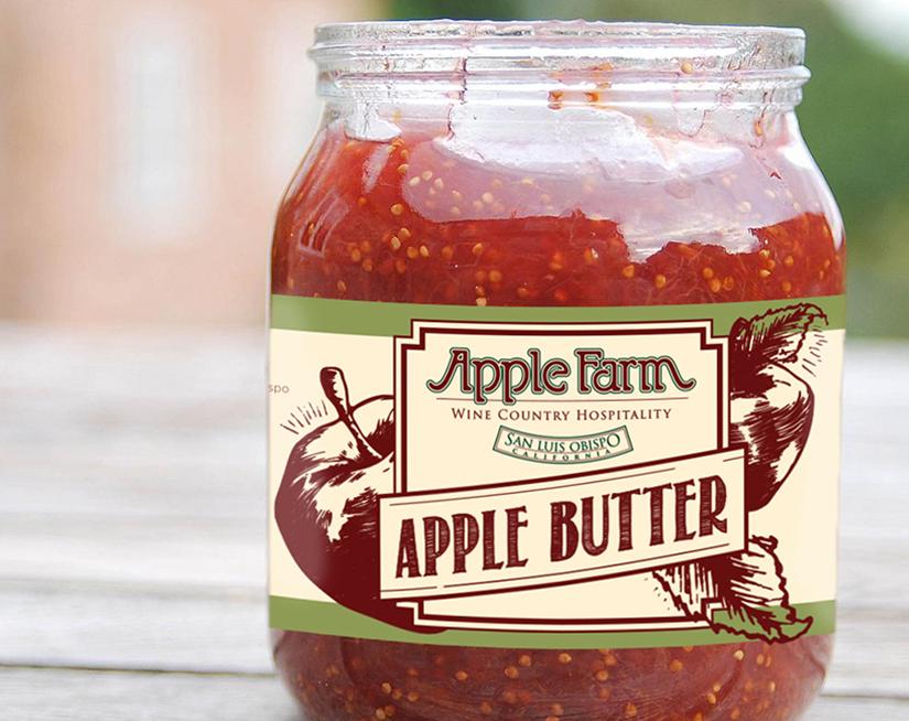 Apple Farm Jam Labels