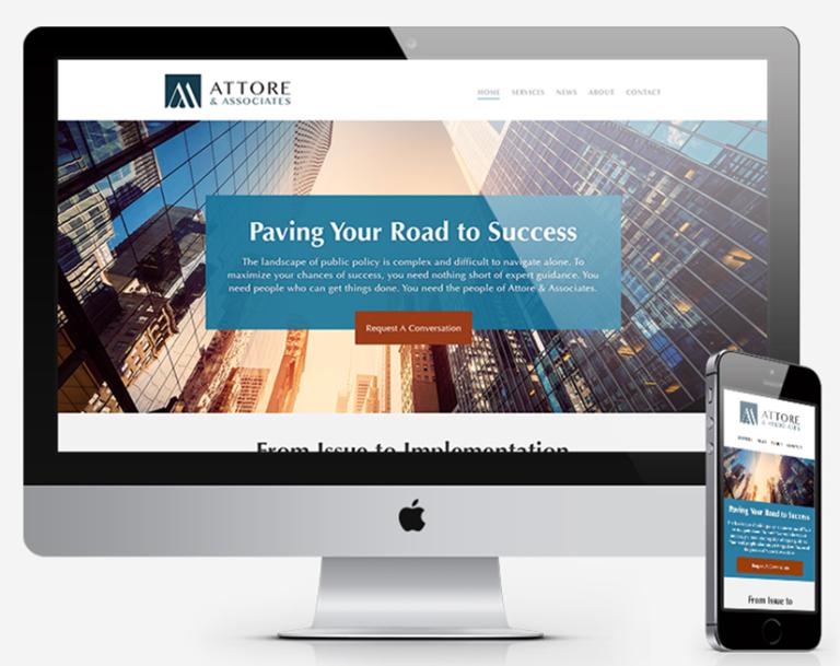 Attore Branding & Web Design