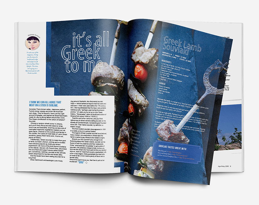 Editorial Design for Paleo Magazine