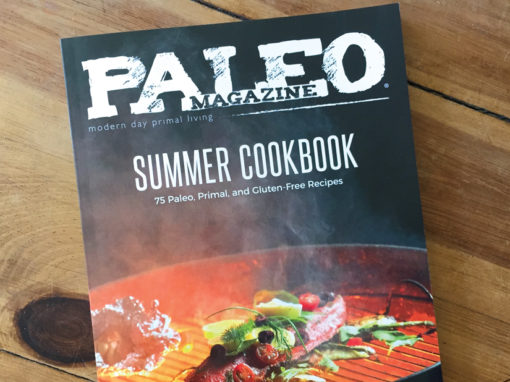 Paleo Magazine Summer Cookbook Design